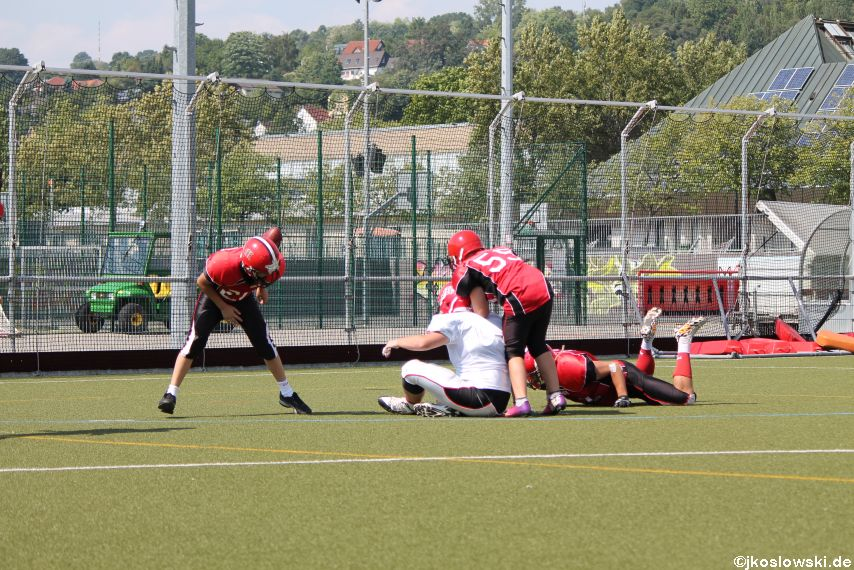 Sommer Camp der Jugend Footballer der Marburg Mercenaries 257