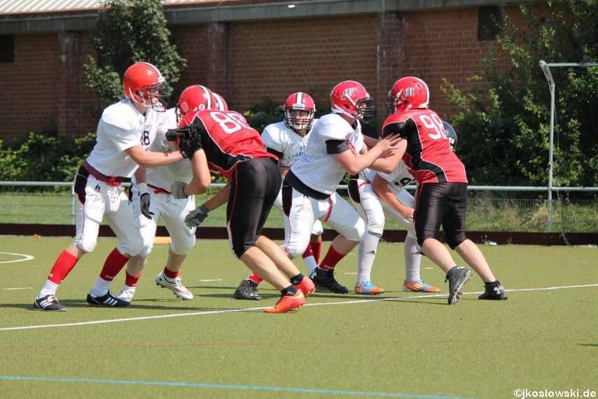 Sommer Camp der Jugend Footballer der Marburg Mercenaries 259