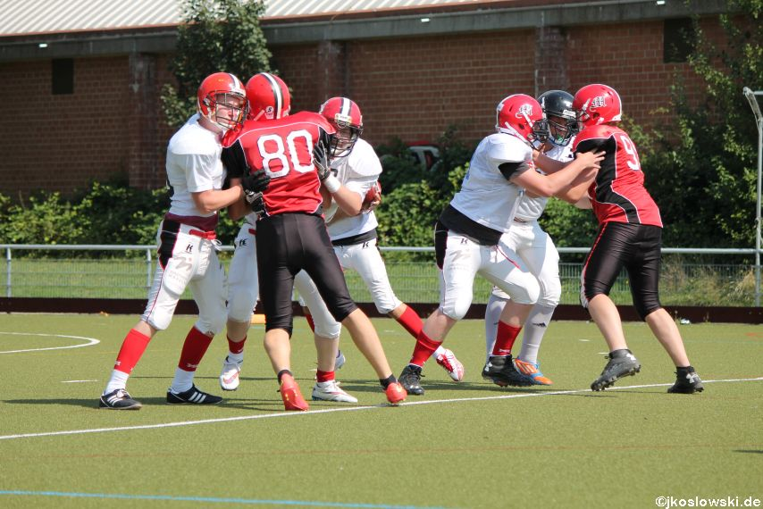 Sommer Camp der Jugend Footballer der Marburg Mercenaries 260