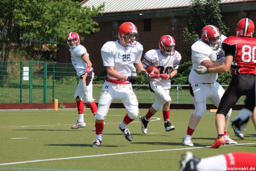 Sommer Camp der Jugend Footballer der Marburg Mercenaries 262