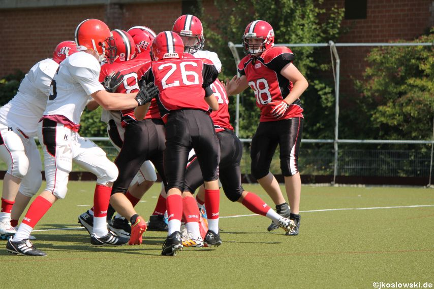 Sommer Camp der Jugend Footballer der Marburg Mercenaries 266