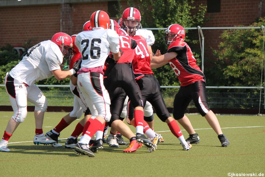 Sommer Camp der Jugend Footballer der Marburg Mercenaries 267