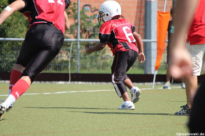 Sommer Camp der Jugend Footballer der Marburg Mercenaries 270