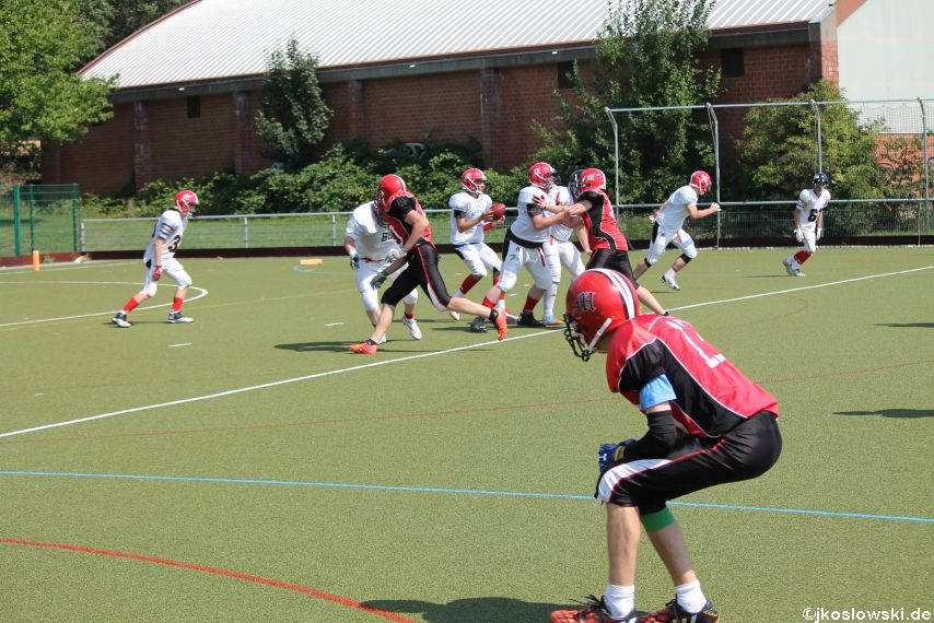 Sommer Camp der Jugend Footballer der Marburg Mercenaries 271