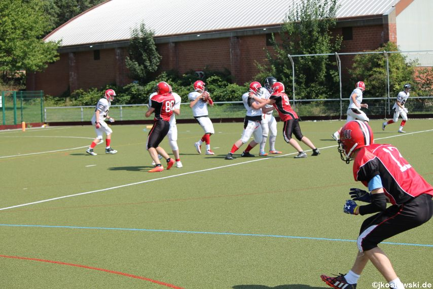 Sommer Camp der Jugend Footballer der Marburg Mercenaries 272