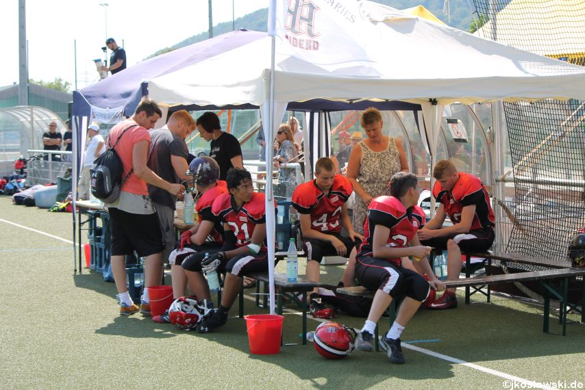 Sommer Camp der Jugend Footballer der Marburg Mercenaries 274