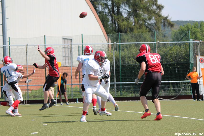 Sommer Camp der Jugend Footballer der Marburg Mercenaries 275