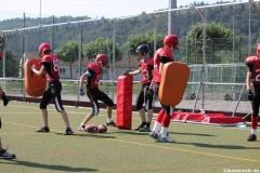 Sommer Camp der Jugend Footballer der Marburg Mercenaries 032