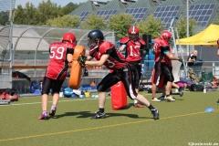 Sommer Camp der Jugend Footballer der Marburg Mercenaries 056