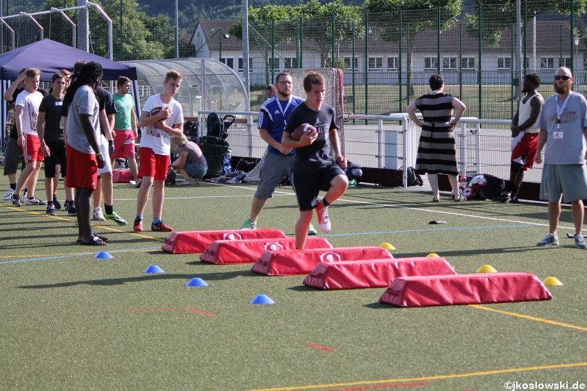 Try Out der Jugend Footballer der Marburg Mercenaries 030