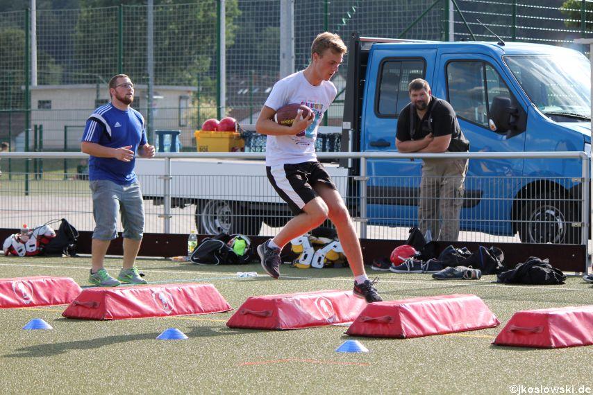 Try Out der Jugend Footballer der Marburg Mercenaries 050