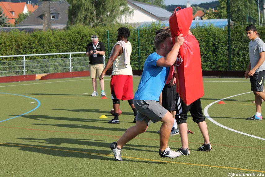 Try Out der Jugend Footballer der Marburg Mercenaries 078