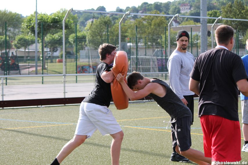 Try Out der Jugend Footballer der Marburg Mercenaries 085