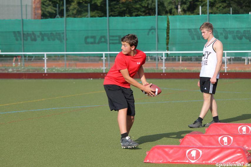 Try Out der Jugend Footballer der Marburg Mercenaries 090