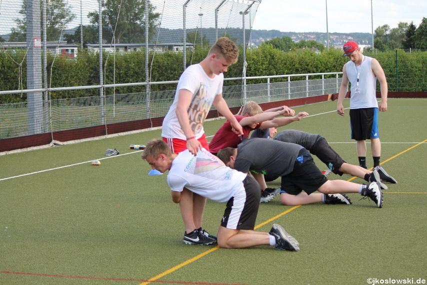Try Out der Jugend Footballer der Marburg Mercenaries 099