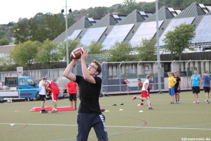 Try Out der Jugend Footballer der Marburg Mercenaries 101