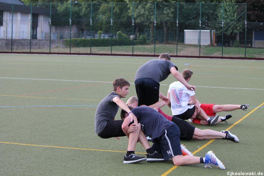 Try Out der Jugend Footballer der Marburg Mercenaries 102