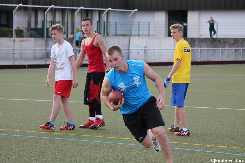 Try Out der Jugend Footballer der Marburg Mercenaries 104