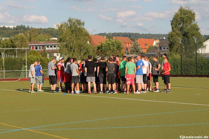 Try Out der Jugend Footballer der Marburg Mercenaries 108