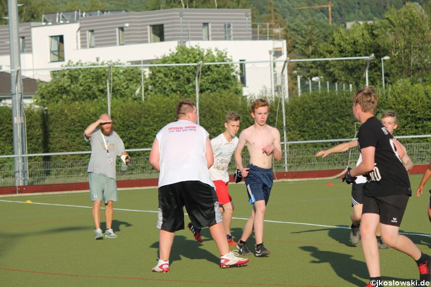 Try Out der Jugend Footballer der Marburg Mercenaries 111
