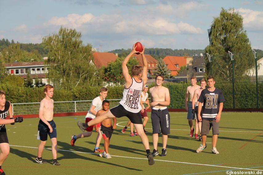 Try Out der Jugend Footballer der Marburg Mercenaries 113
