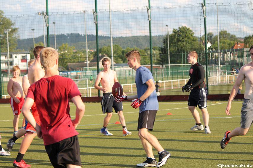 Try Out der Jugend Footballer der Marburg Mercenaries 114