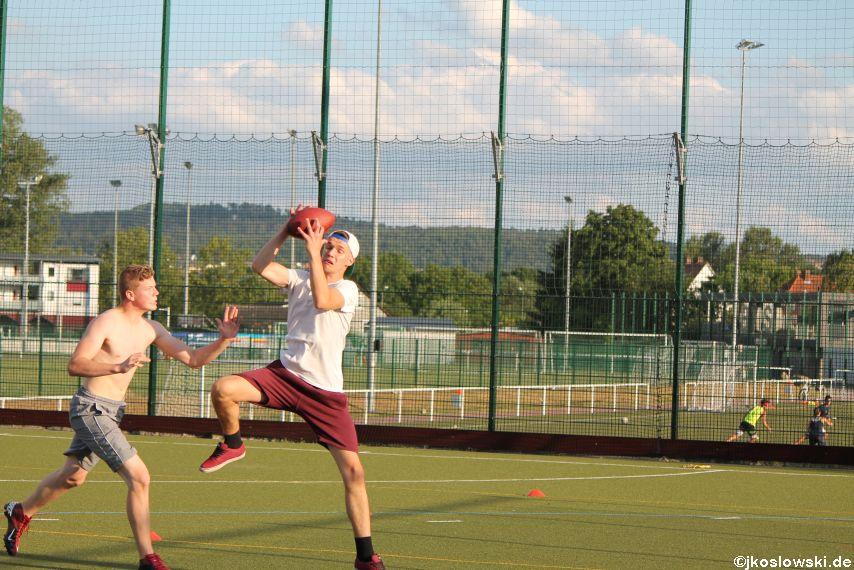 Try Out der Jugend Footballer der Marburg Mercenaries 120