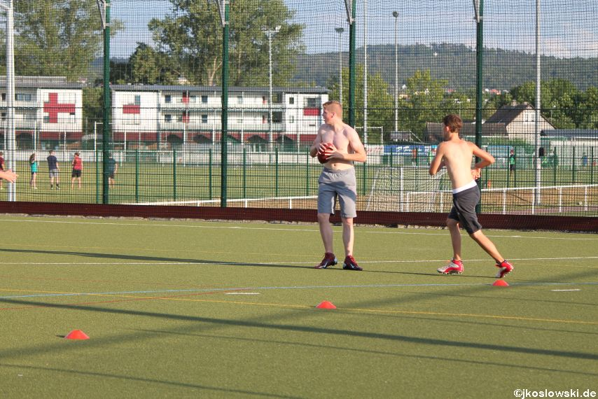 Try Out der Jugend Footballer der Marburg Mercenaries 123