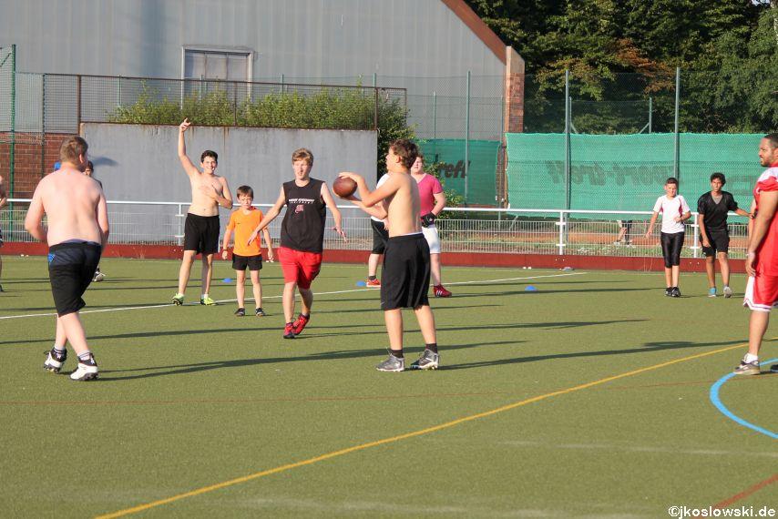 Try Out der Jugend Footballer der Marburg Mercenaries 125