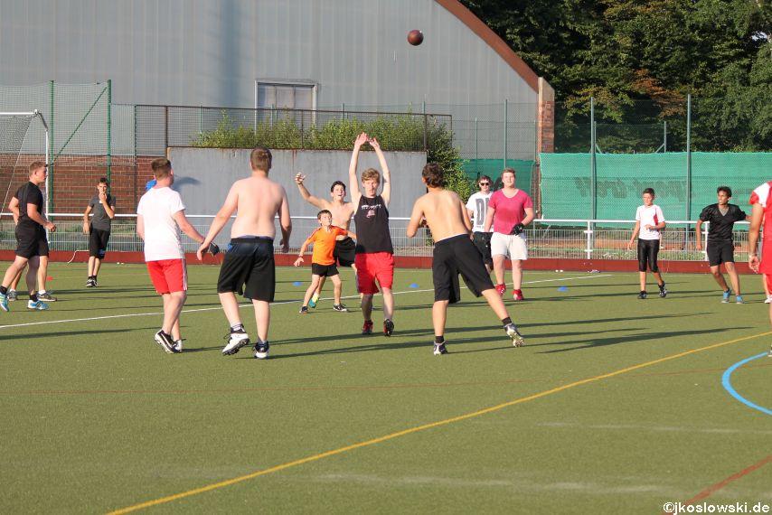 Try Out der Jugend Footballer der Marburg Mercenaries 126