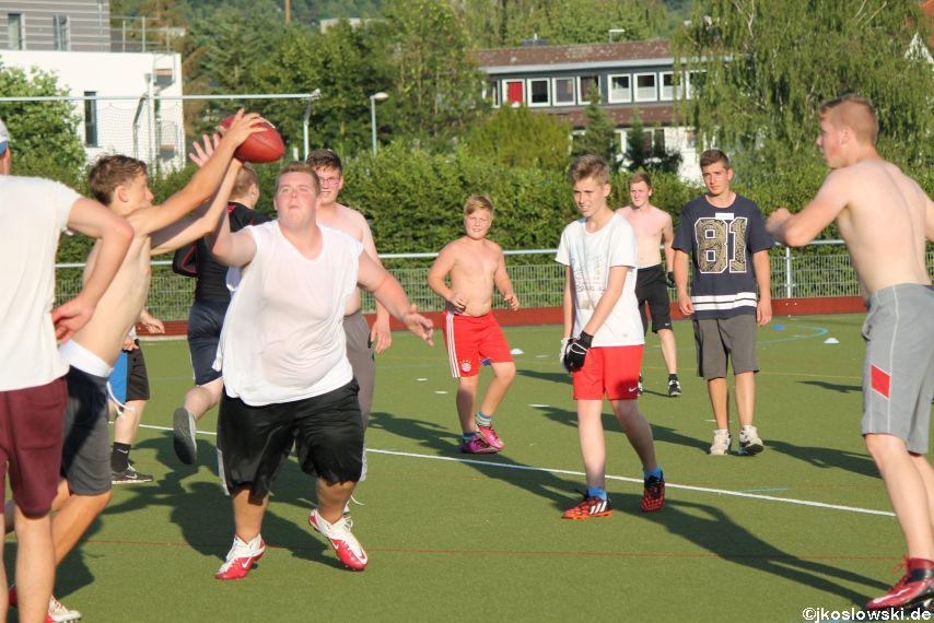 Try Out der Jugend Footballer der Marburg Mercenaries 130