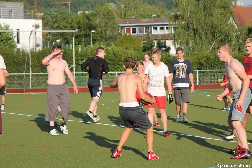 Try Out der Jugend Footballer der Marburg Mercenaries 131