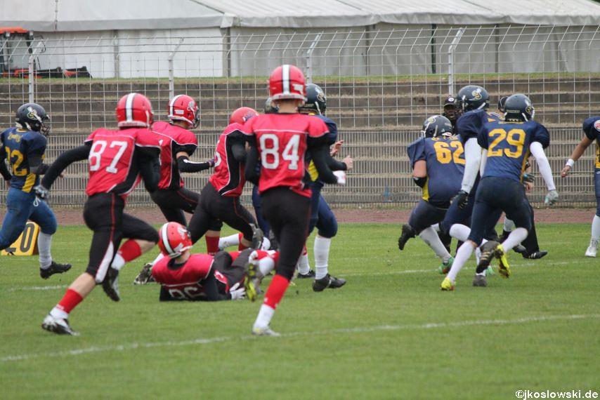 U17 Hanau Hornets vs. Marburg Mercenaries010