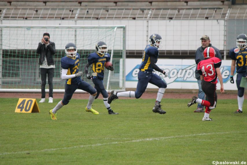 U17 Hanau Hornets vs. Marburg Mercenaries011