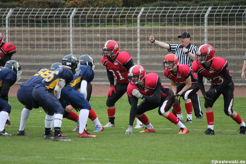 U17 Hanau Hornets vs. Marburg Mercenaries012