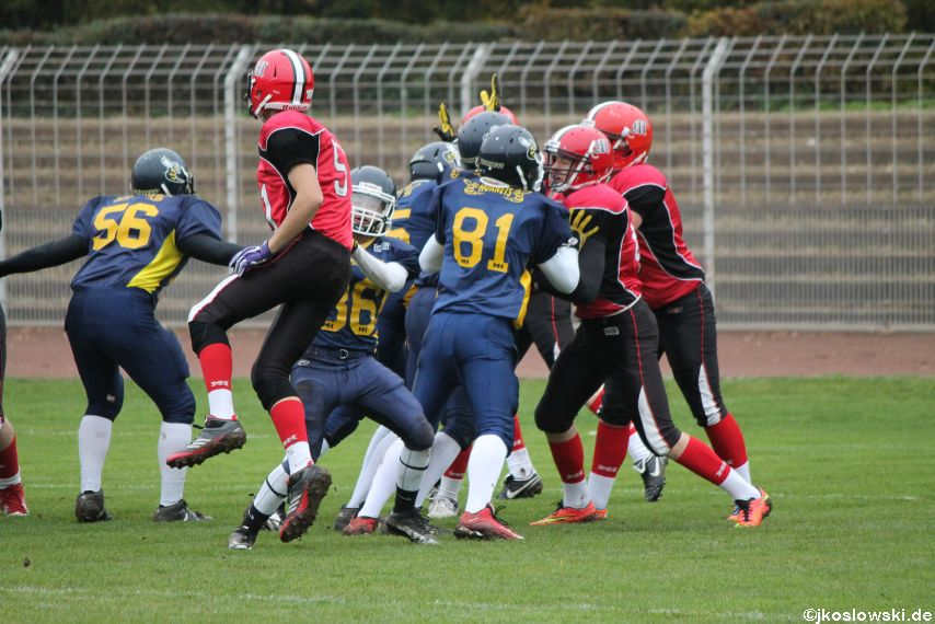U17 Hanau Hornets vs. Marburg Mercenaries014