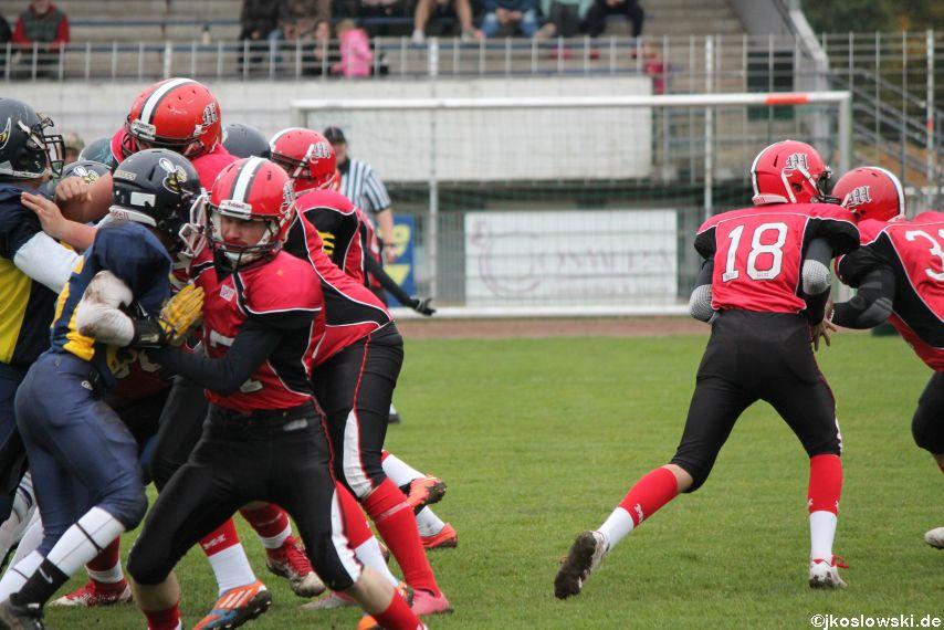 U17 Hanau Hornets vs. Marburg Mercenaries017