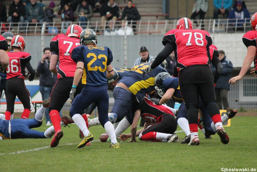 U17 Hanau Hornets vs. Marburg Mercenaries030