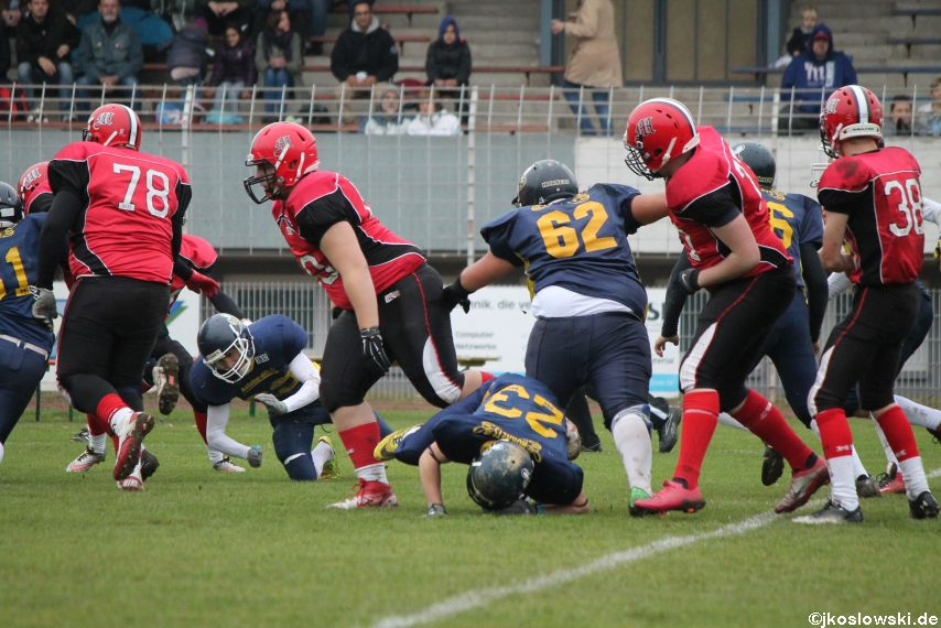 U17 Hanau Hornets vs. Marburg Mercenaries048