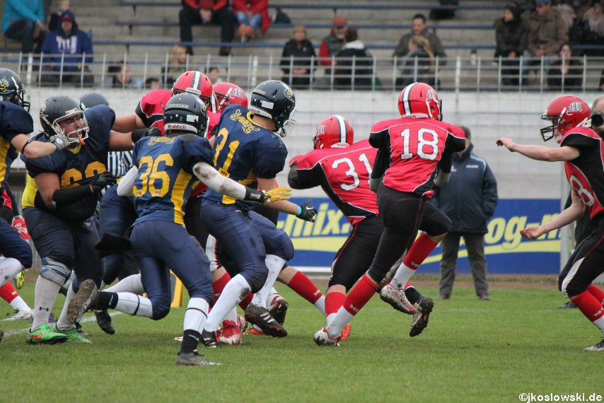 U17 Hanau Hornets vs. Marburg Mercenaries060
