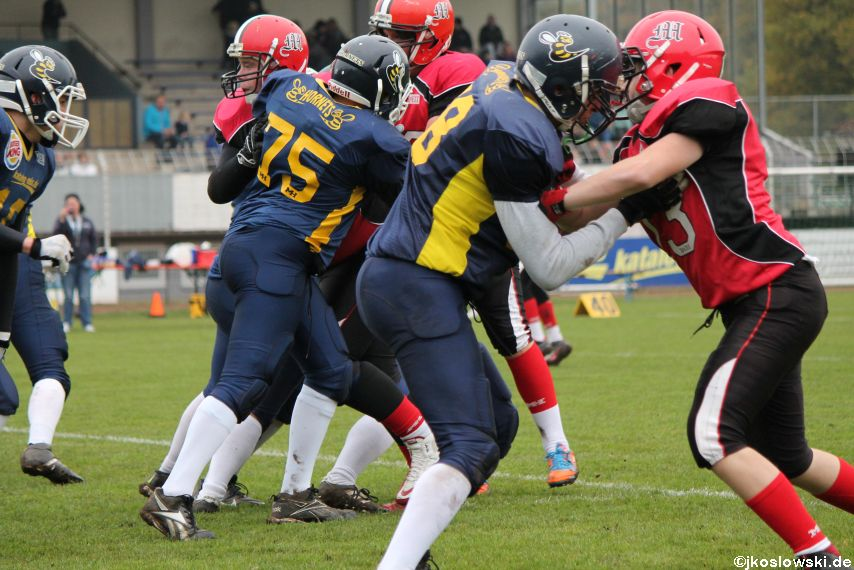 U17 Hanau Hornets vs. Marburg Mercenaries092