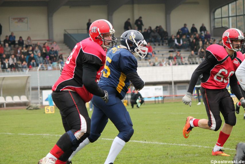 U17 Hanau Hornets vs. Marburg Mercenaries098