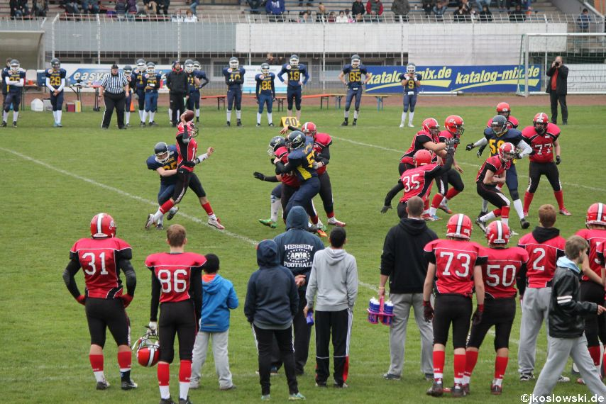 U17 Hanau Hornets vs. Marburg Mercenaries246