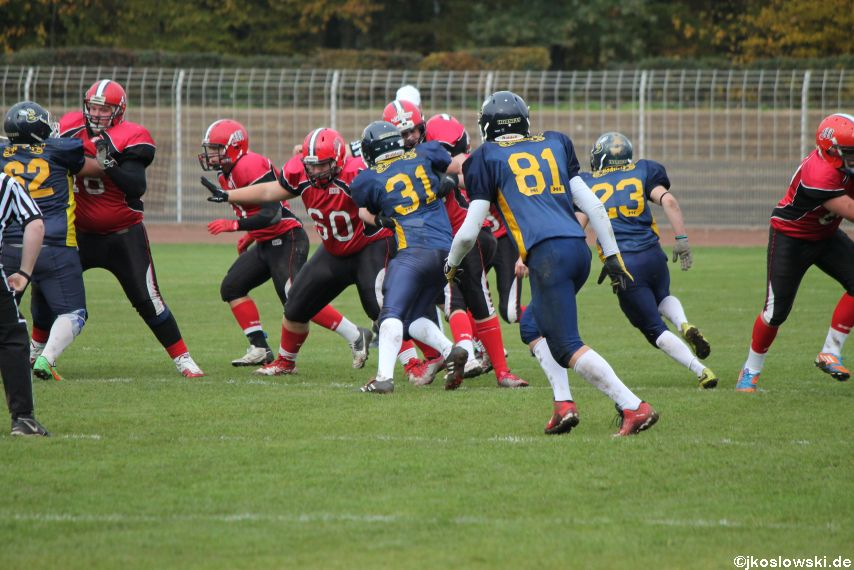 U17 Hanau Hornets vs. Marburg Mercenaries321