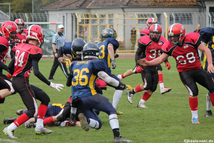 U17 Hanau Hornets vs. Marburg Mercenaries345