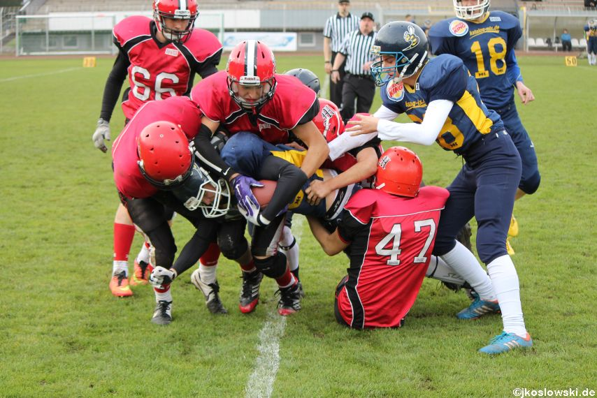 U17 Hanau Hornets vs. Marburg Mercenaries386