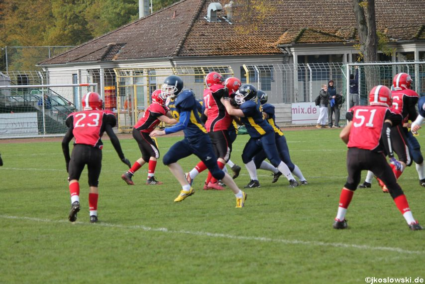 U17 Hanau Hornets vs. Marburg Mercenaries404