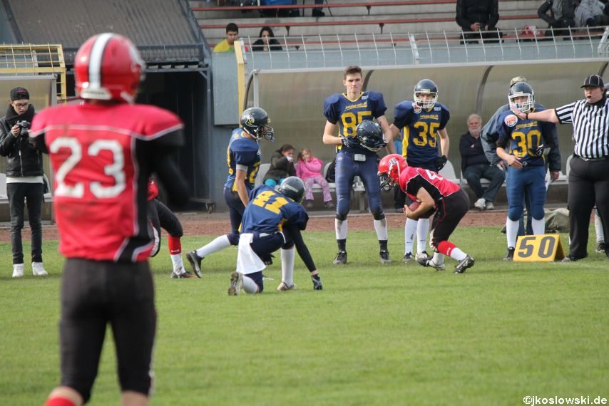 U17 Hanau Hornets vs. Marburg Mercenaries405
