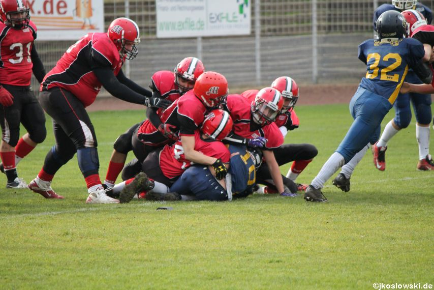 U17 Hanau Hornets vs. Marburg Mercenaries411