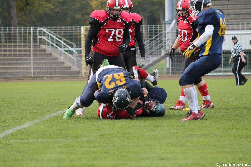 U17 Hanau Hornets vs. Marburg Mercenaries420